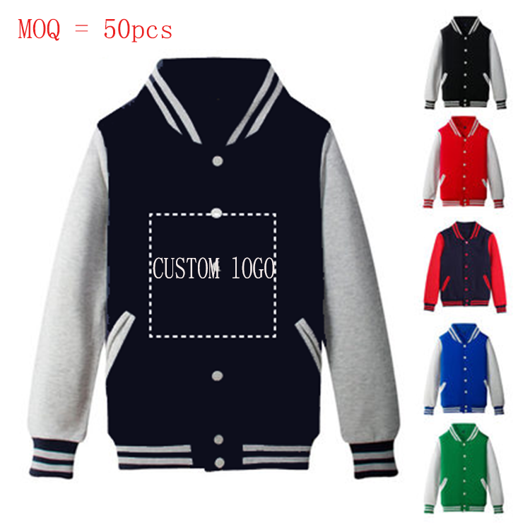 Fashion design Custom Looped or Fleece Man Jacket,Custom Varsity Jackets,Baseball Jackets