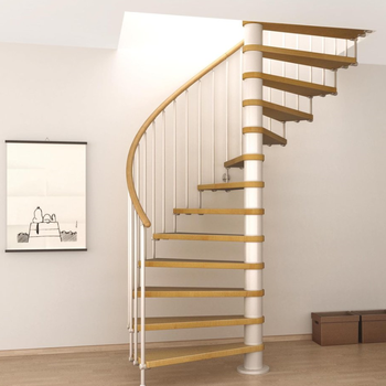 Timber Steps Staircase Spiral Stair Case