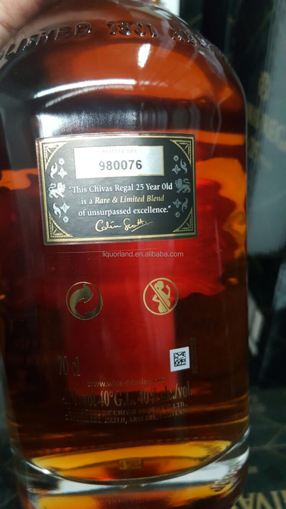 1385cbd2c47 Chivas Regal 25 Years Old Whisky - Buy Scotch Whisky,Coded Gift ...