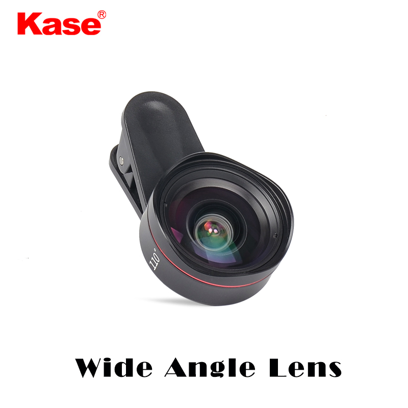 Kase 4 in 1 smartphone lens set for mobile flimmaker/ Wide Angle/ Fisheye/ Telephoto/ Macro /Mobile phone external lens