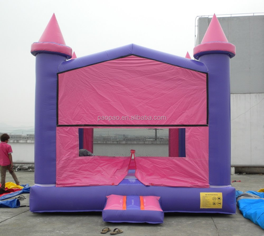 Inflatable Castle to Fit Customized Hook & Loop Art Banners