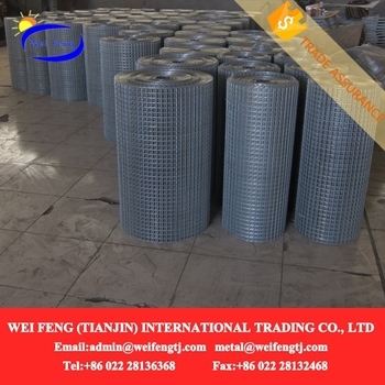 Portable 2x2 Galvanized Welded Welded Wire Mesh Fence Panels In 12 ...