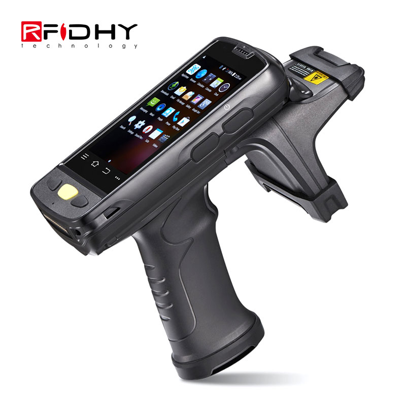 HY-R4000 Long Range RFID Handheld Reader Writer Android Rugged UHF RFID Reader