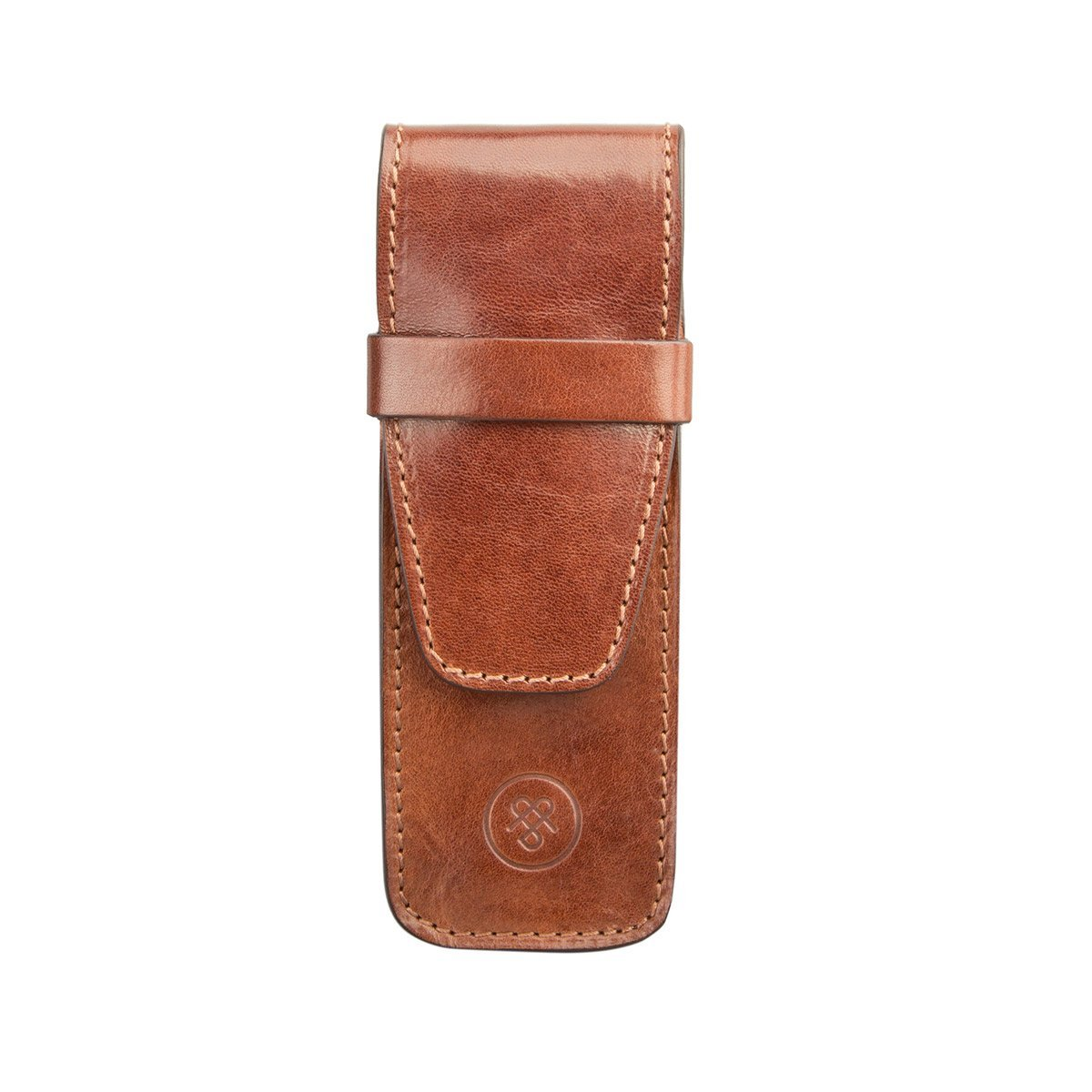 ebe82c4154 Buy Maxwell Scott® Luxury Tan Luxury Pen Case (Pienza) - One Size in ...
