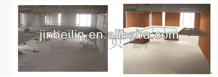 High Strength Steel Structure 25 mm Fireproof Fiber Cement Backer Board