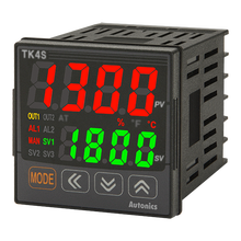 Autonics TK4S-24RN المزدوج <span class=keywords><strong>خط</strong></span> 4 أرقام LED عرض <span class=keywords><strong>درجة</strong></span> <span class=keywords><strong>الحرارة</strong></span> تحكم