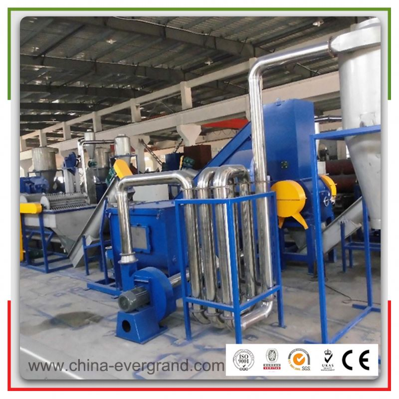 Waste cement bags hdpe film washing line reprocessing units