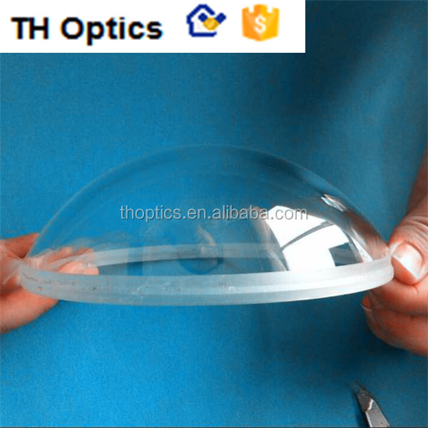 Customized dome lens glass dome for camera protective cover