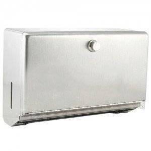 "Bobrick B-2621 Paper Towel Dispenser, 10-3/4"" x 7-1/8"", Mounted, Stainless-2PK"