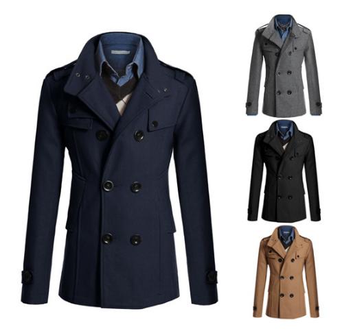 H30021c Koreanischen Stil Neue Mode Herren Wollmantel Winter Kurze Stil Mantel Buy Mode Für Männer Wolle Mantel,Mode Herren Wollmantel Winter Kurze