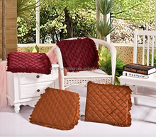 Patio chair seat cushion outdoor cushion with ties
