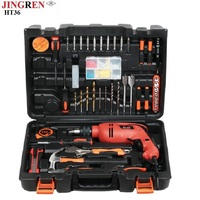 110 pieces of electric drill hardware tools /Household tool set /Electrician tool set impact drill