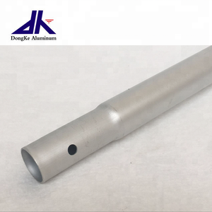 17mm anodizing tapered aluminum tube