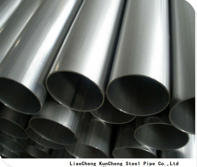polished stainless steel welded pipe 201 304 for decorative use