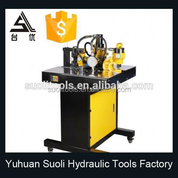 portable busbar machine