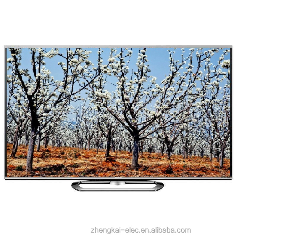 Fashional Design Narrow Frame Curved Metal Base 65INCH ELED <strong>TV</strong> 1080P wide screen hotel <strong>tv</strong>