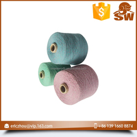 China-made newly design spun silk and cashmere blended yarn