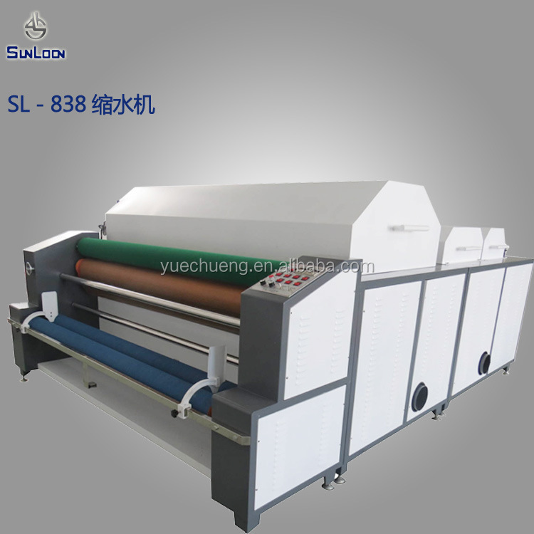 Sl-838 Fabric Shrinking And Forming Machine