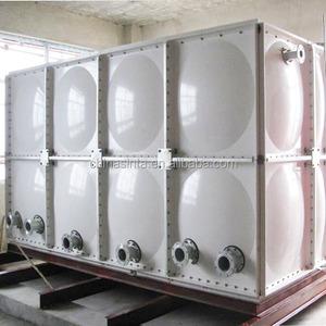 GRP SMC Sectional Fiberglass Water Storage Tank/FRP Sectional Panels Tank  Price