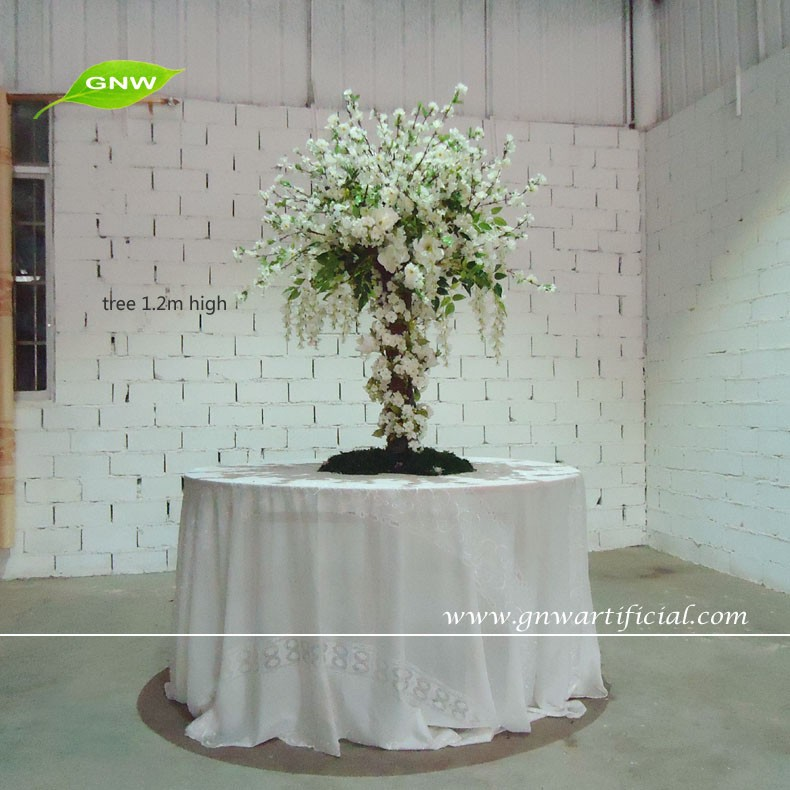 GNW FLW1512 1 Artificial White Flower Arches For Western Outdoor Wedding  Decoration