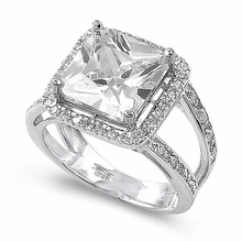2015 high quality AAAA cz brass cubic zirconia ring cheap