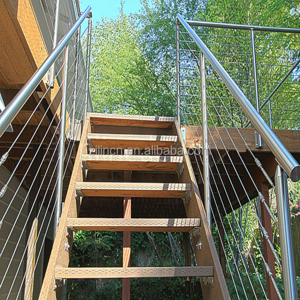 Stainless Steel Wire Stair Railing, Stainless Steel Wire Stair Railing  Suppliers And Manufacturers At Alibaba.com