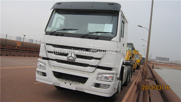 6*4 336HP SINOTRUK Trailer Mover / HOWO Prime Mover Truck For Sale