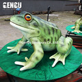 Sound control animal lifelike frogs model