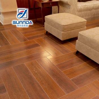 Digital Printing Wood Plank Look Ceramic Tile Timber Grey Brown Color Wooden Floor Tiles