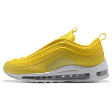 the latest 01a15 c015c New Max 97 running shoes Triple white black yellow Og Metallic Gold Silver  Bullet Men trainer Air 97s Women sports sneakers