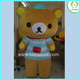 HI CE used cartoon character rilakkuma mascot costumes for sale,mascot costumes china