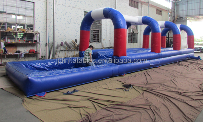 Gommercial grade inflatable water slip n slide for sale
