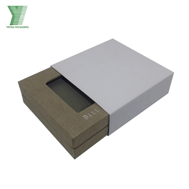 New design jewelry box custom recyclable luxury packaging box