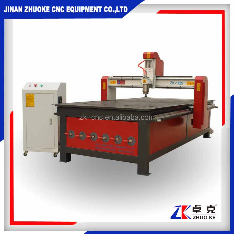 discount price 3D CNC router/Wood cutting machine for solidwood,MDF ,alucobond,PVC,Plastic,foam ZK-1325A