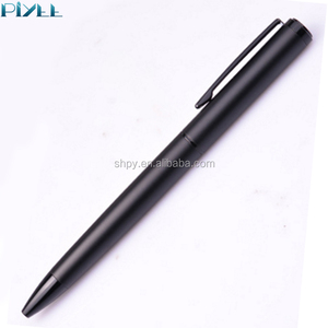 Super smooth touch matt surface twist and korea style metal ball pen for personalized business gift and promotional