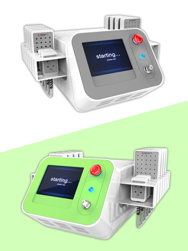336 diodes dual wavelength lipolaser slimming machine laser weight loss beauty equipment