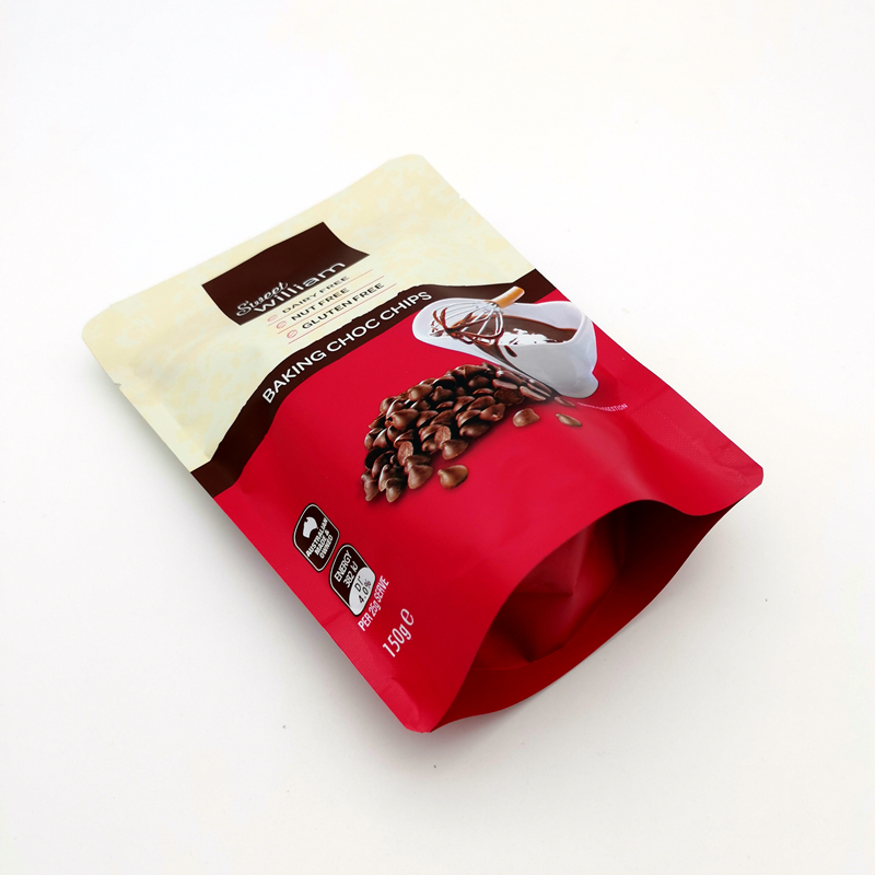Customized coffee bags made in China Stand-up Pouch with Zipper Reusable Bags