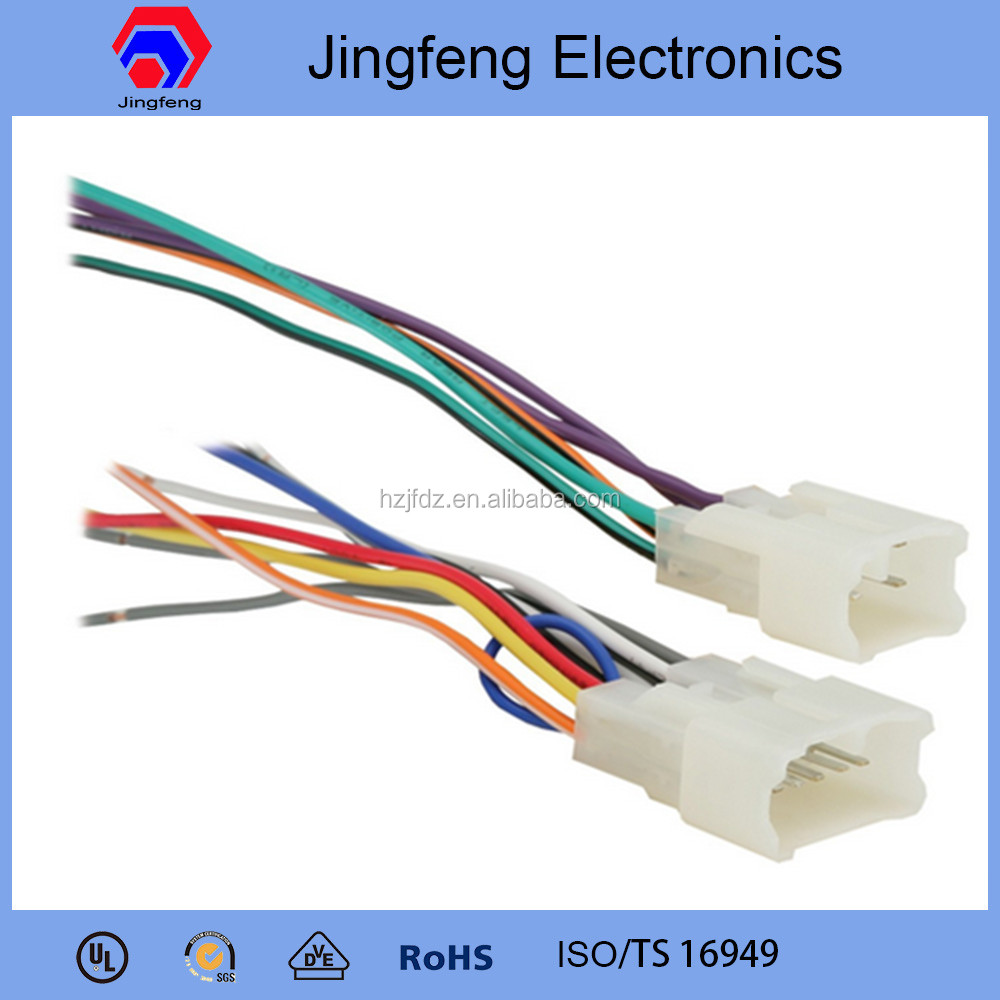 Car Radio Wiring Connecto Library Harness Connectors Stereo For Toyota Innova Audio System Buy