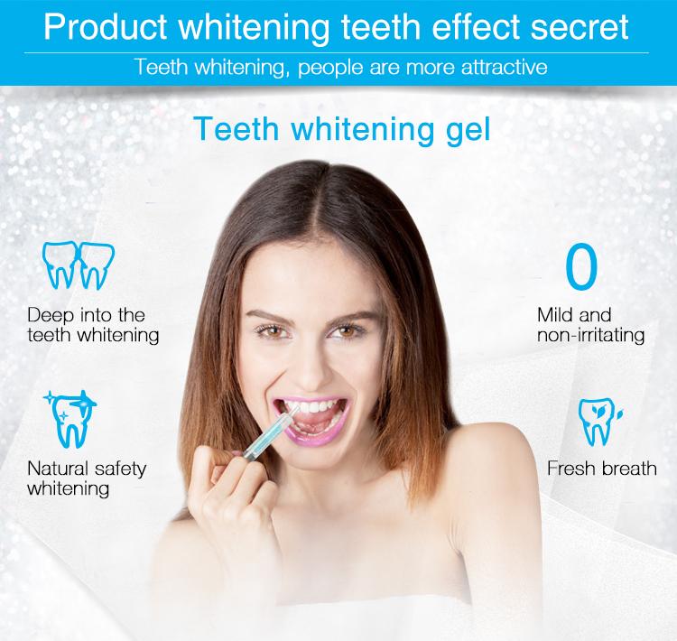 Professionale Onuge sbiancamento dei denti kit led, sbiancamento dei denti kit