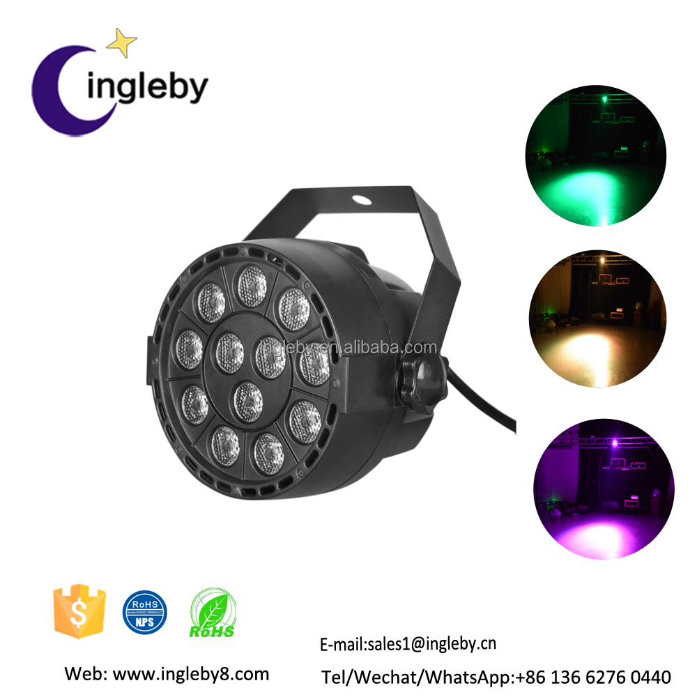 modern lighting in disco cheap price widely used DMX512 Auto china 12w led ceiling par light