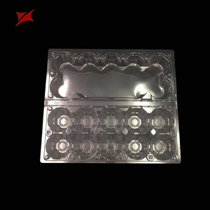 Accept Custom Order and Blister Process Type plastic quail egg tray