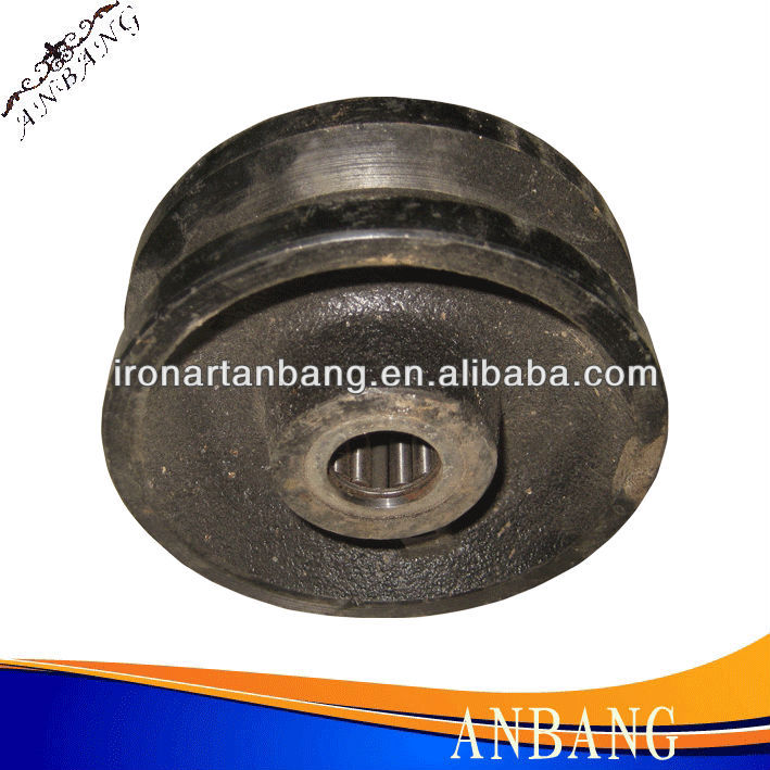 AB Medium Heavy Duty Fixed Caster Cast Iron Wheel series