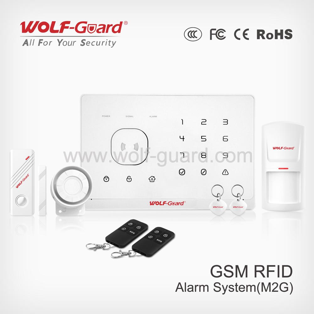 Wholesale China Gsm Burglar Alarm System,Voice Alarm,Touch Keypad ...
