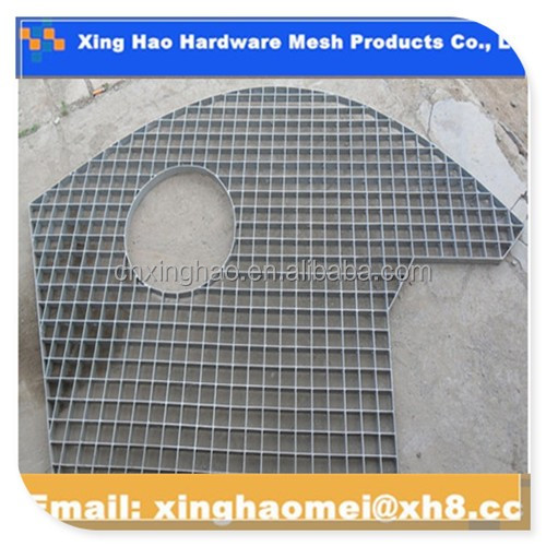 China factory ISO9001cheap stair treads steel grating weight Ireland