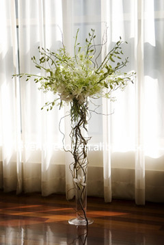 Trumpet Glass Vase Wholesale Clear Glass Vase For