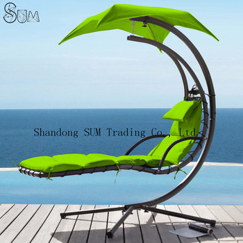 Dream Chair With Umbrella Outdoor Patio Lounge Arc Stand Air Porch