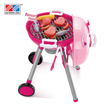 Kid Barbecue Funny Toy Bbq Set Play Kids Kitchen