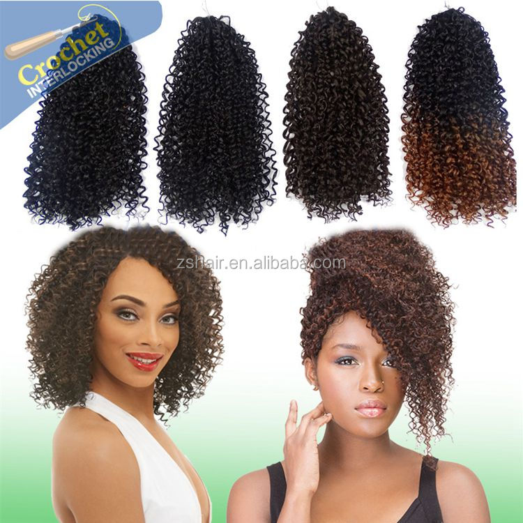 Synthetic Xpression Hair Braiding 50g 12inch 40pcs/pack Natural Afro Kinky Curl Xpresion Braid