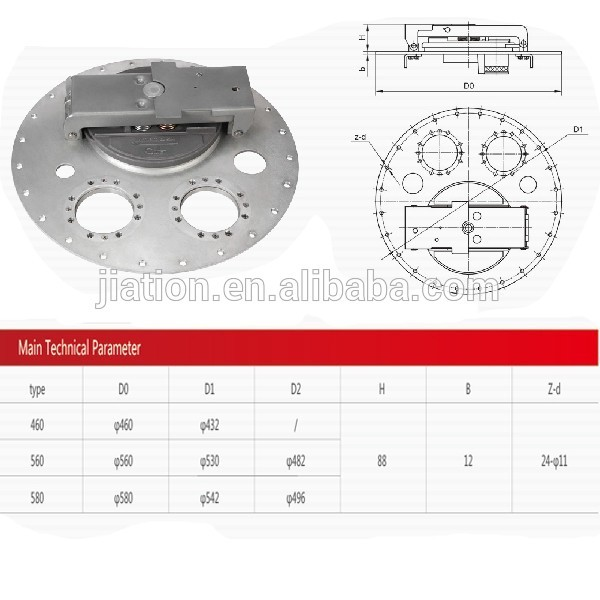Manhole Cover For Top Loading Fuel Tanker tank hatch cover