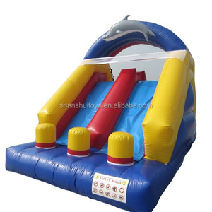 CE standard commerical inflatable slide, kids water slide inflatable bouncer for kids